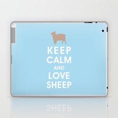 Keep Calm and Love Sheep Laptop & iPad Skin