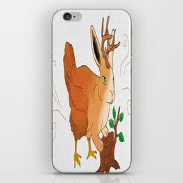 The Woolly Wolpertinger iPhone Skin