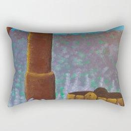 Water pump Rectangular Pillow