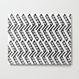 Patterns: Mimbres 2 Metal Print