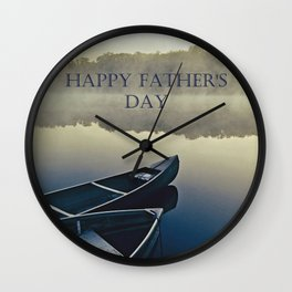 Happy Father's Day! Wall Clock