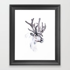 Reindeer Framed Art Print