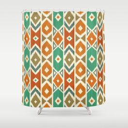Wood Boho 10 Shower Curtain