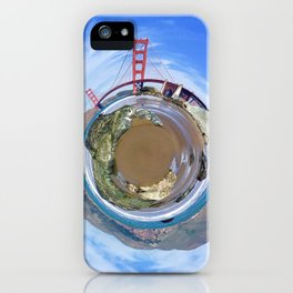 Golden Gate Sphere iPhone Case