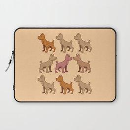 Nine dogs  Laptop Sleeve