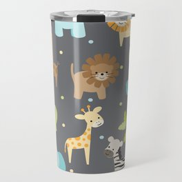 Jungle Animals Travel Mug