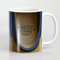 vans Mugs featuring Vans California by RaySnaps