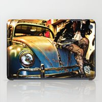 volkswagon iPad Cases featuring Bug Life by sysneye