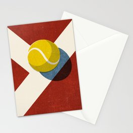 BALLS / Tennis (Clay Court) Stationery Cards