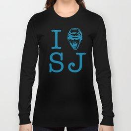 San Jose Shark's Teal I >0 SJ Long Sleeve T-shirt