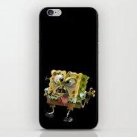 spongebob iPhone & iPod Skins featuring SpongeBob SquarePants by Tayfun Sezer
