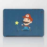 mario iPad Cases featuring Mario by Rod Perich