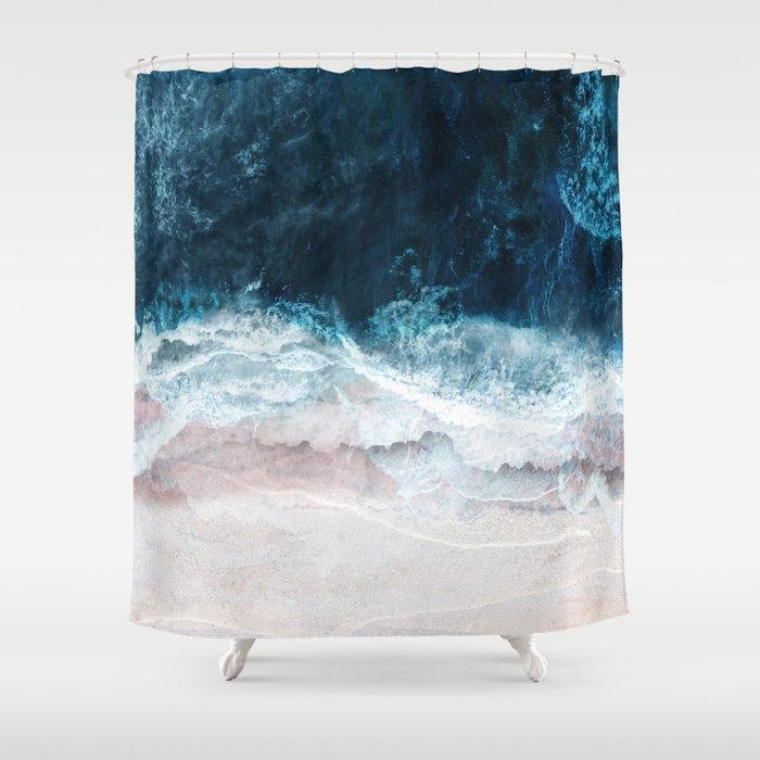 Blue Sea II Duschvorhang