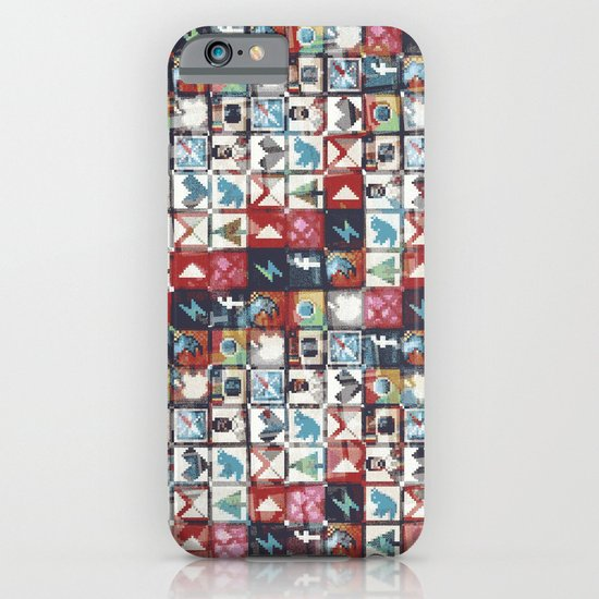 Corrupted pixel loop iPhone & iPod Case