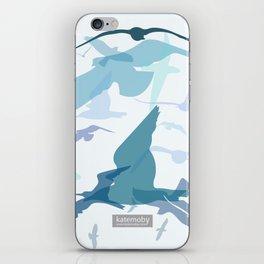Seaside Birds iPhone Skin