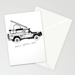 Limted Edition 4xOverland Troopy Stationery Cards
