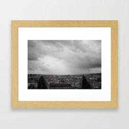 Paris is Symmetric Framed Art Print