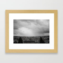 Paris is Symmetric Framed Art Print