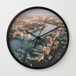 Top of the Shard Wall Clock