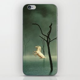 Drain The Swamp Of Sadness iPhone Skin