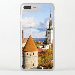 Tallinn Clear iPhone Case