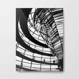 Berlin & Beyond Metal Print