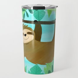 Cute Sloth Travel Mug