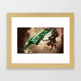 Riven Framed Art Print
