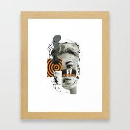 He Kills Me Framed Art Print