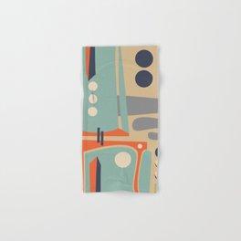 Mid Century Orange Hand & Bath Towel