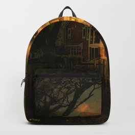 Spooky Boathouse Backpack