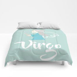 Virgo Aug 23 - Sep 22 - Earth sign - Zodiac symbols Comforters