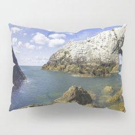 The White Arch  Pillow Sham