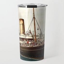 Vintage Ocean Liner Travel Mug