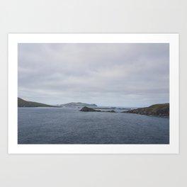 Irish Islands Art Print