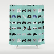 Console Evolution Shower Curtain