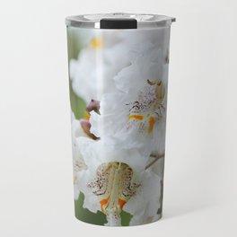Catalpa Blossoms Travel Mug