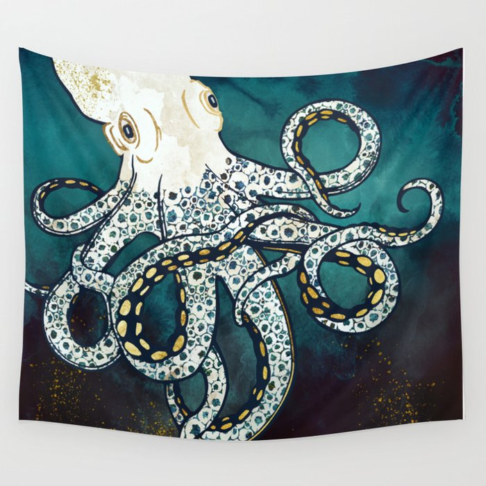 Underwater Dream VII Wall Tapestry