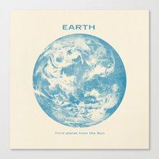 Third Planet  Canvas Print