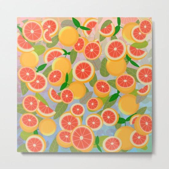 Grapefruit Song Metal Print
