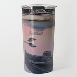 Two boats one seagull Travel Mug
