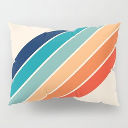 Karanda - 70s Style Classic Retro Stripes Pillow Sham
