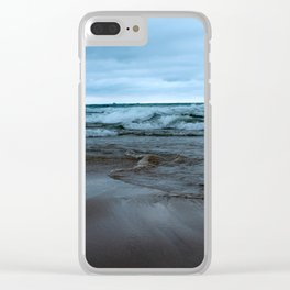 Summer Chills Clear iPhone Case