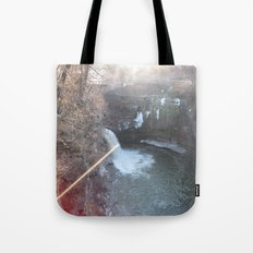 Pink Water Tote Bag
