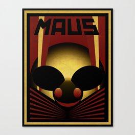 OBEY THE MAU5 Canvas Print