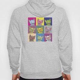 Pop Art Cat Hoody
