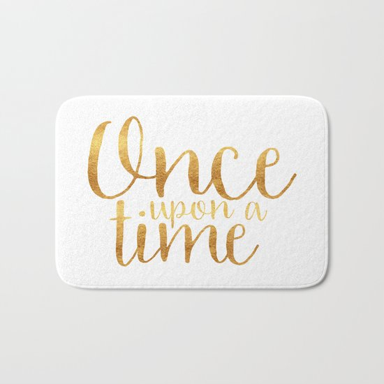 Once Upon a Time - Gold Bath Mat