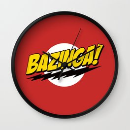 The Big Bang Theory - Bazinga  Wall Clock
