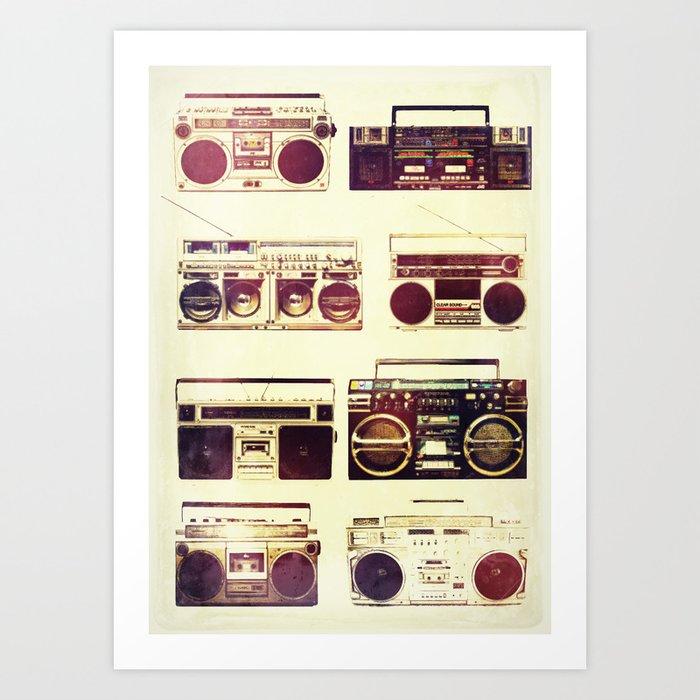 Analog Love: Boom Art Print
