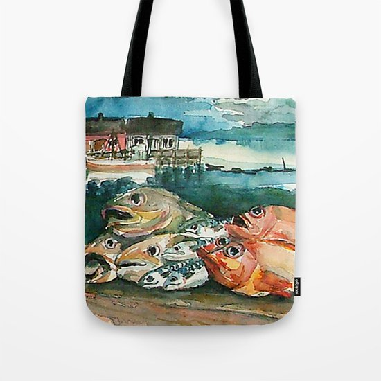 Memories frome the coast of Norway Tote Bag
